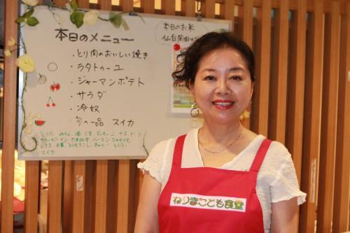 """金子よしえさんからの一言が、""""ねりまこども食堂""""という動きに繋がりました。"""