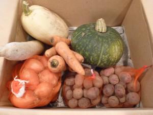 子どもたちに提供される食材の多くは、ご門徒や地域の方々、金子さんの取り組みに賛同してくださった方々から寄せられたものです。