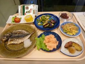 美味しいだけでなく、栄養バランスにも優れたメニューがならんだ夕食。