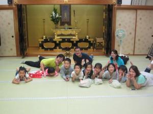 8名の子どもが集まってくれました!