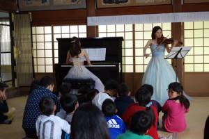 ピアノとヴァイオリンが織りなすクラシックコンサート