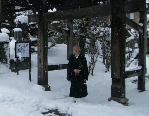 光照寺の和田至紘住職
