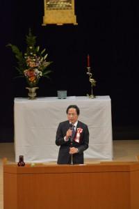 姜尚中氏(東京大学名誉教授)による講演