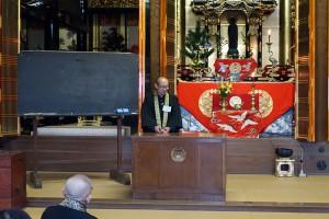 唯念寺での教導の御法話