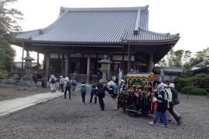豊郷町の唯念寺に到着