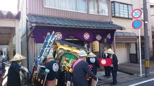 福井市の櫻井様宅にお立ち寄り。