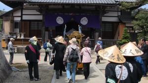 永正寺に到着。