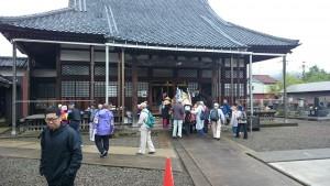 福井市の東稱名寺様にお立ち寄り。
