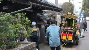 法泉寺に到着。