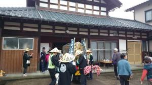 福井市の小林様宅にお立ち寄り。