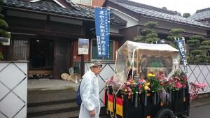 福井市の吉田様宅にお立ち寄り。