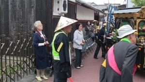 光徳寺さんに到着、多くの方が待ってくださっていました。