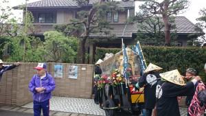 鯖江市の豊岡様宅にお立ち寄り。