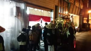 福井市の小嶋様宅にお立ち寄り。