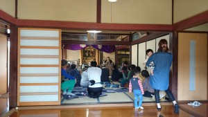 福井市の前田様宅にお立ち寄り。