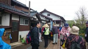 鯖江市の渡辺様宅にお立ち寄り。