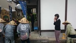 小松勇ニさん所有の家。ご自宅は別にあり、ここは年2回(御下向・御上洛)蓮如上人のお立ち寄りだけのために建てられた家だそうです。