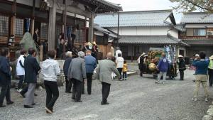 長保寺に到着。
