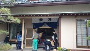 坂井市の古川様宅にお立ち寄り。