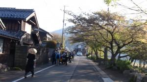 琵琶湖沿いにさしかかると、さらに気持ちがいいです。