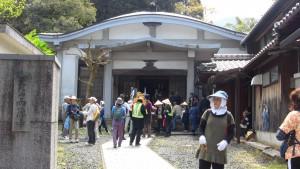 西徳寺さんに到着。長い上り坂と下り坂を越えて、ようやくたどり着いた会所です。