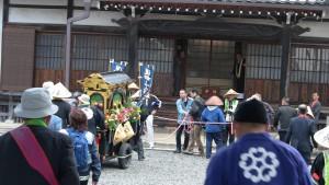 本日の最後の会所の榮敬寺に到着。