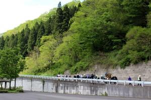 御上洛最大の難関「栃の木峠」に向けていざ出発