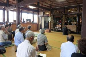 覚念寺様へお立ち寄り。福井市から鯖江市へ。