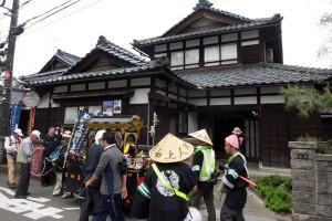 松村様宅へお立ち寄り。