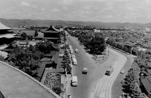 昭和30年代の東本願寺周辺