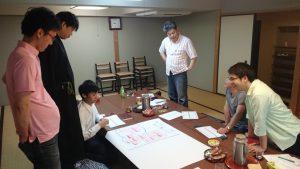 「スタッフ事前学習会では、本番を想定してのフレームワークを練習しました」
