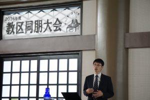 福井教区同朋大会・「お寺の未来」代表理事である井出悦郎氏による基調講演
