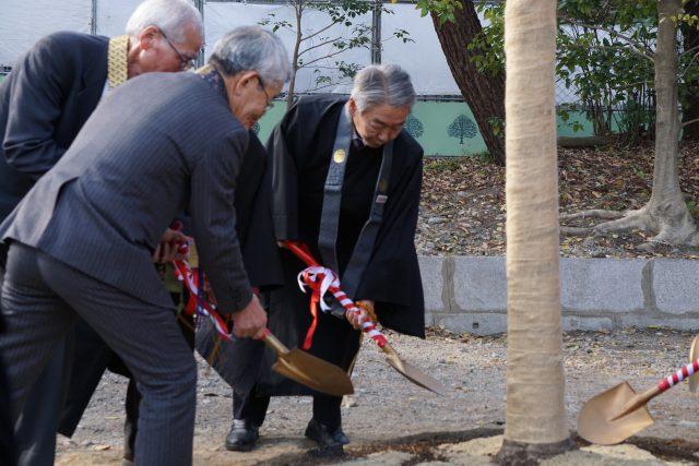 荘川桜植樹式・鍬入れ式1