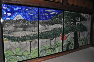 04金子紀久雄(日本画家)による本堂襖絵