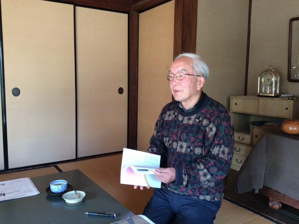2018年全戦没者追弔法会、記念講演後のシンポジウムのパネリストとしてお招きする平塚淳次郎さん