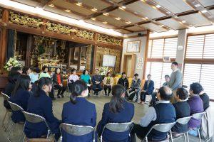 蓮福寺「プレイバックシアター」最初の自己紹介