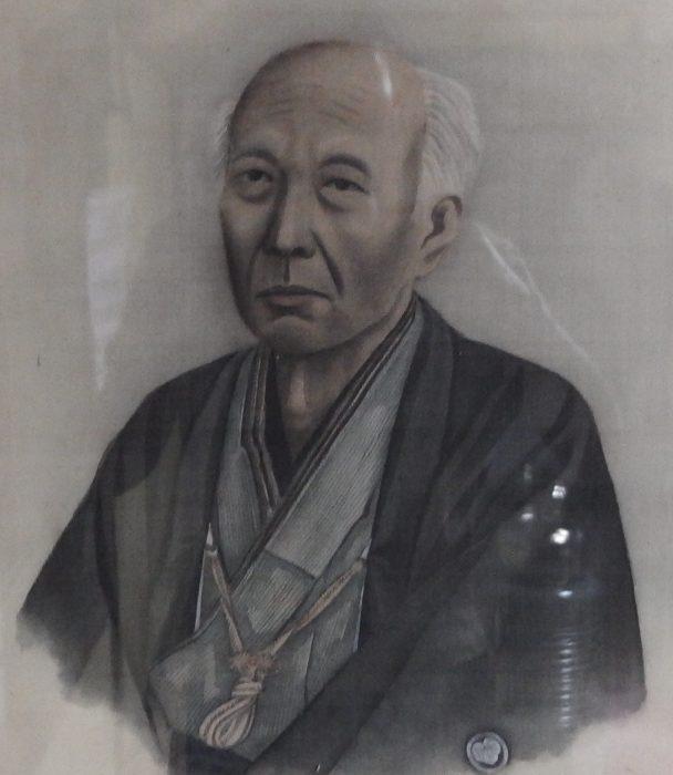真宗人物伝坂井若利肖像画(新潟木揚場教会所蔵)