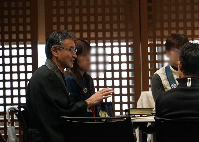 名古屋教区第5組グリーフケア講座の講師酒井義一さん