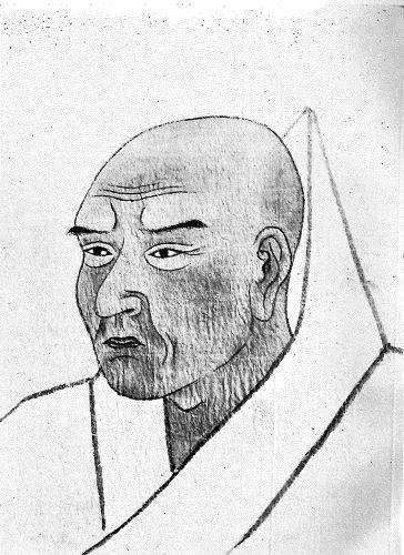 2公巌師肖像(浄福寺蔵、『近代之儒僧 公巌師の生涯と教学』より転載)