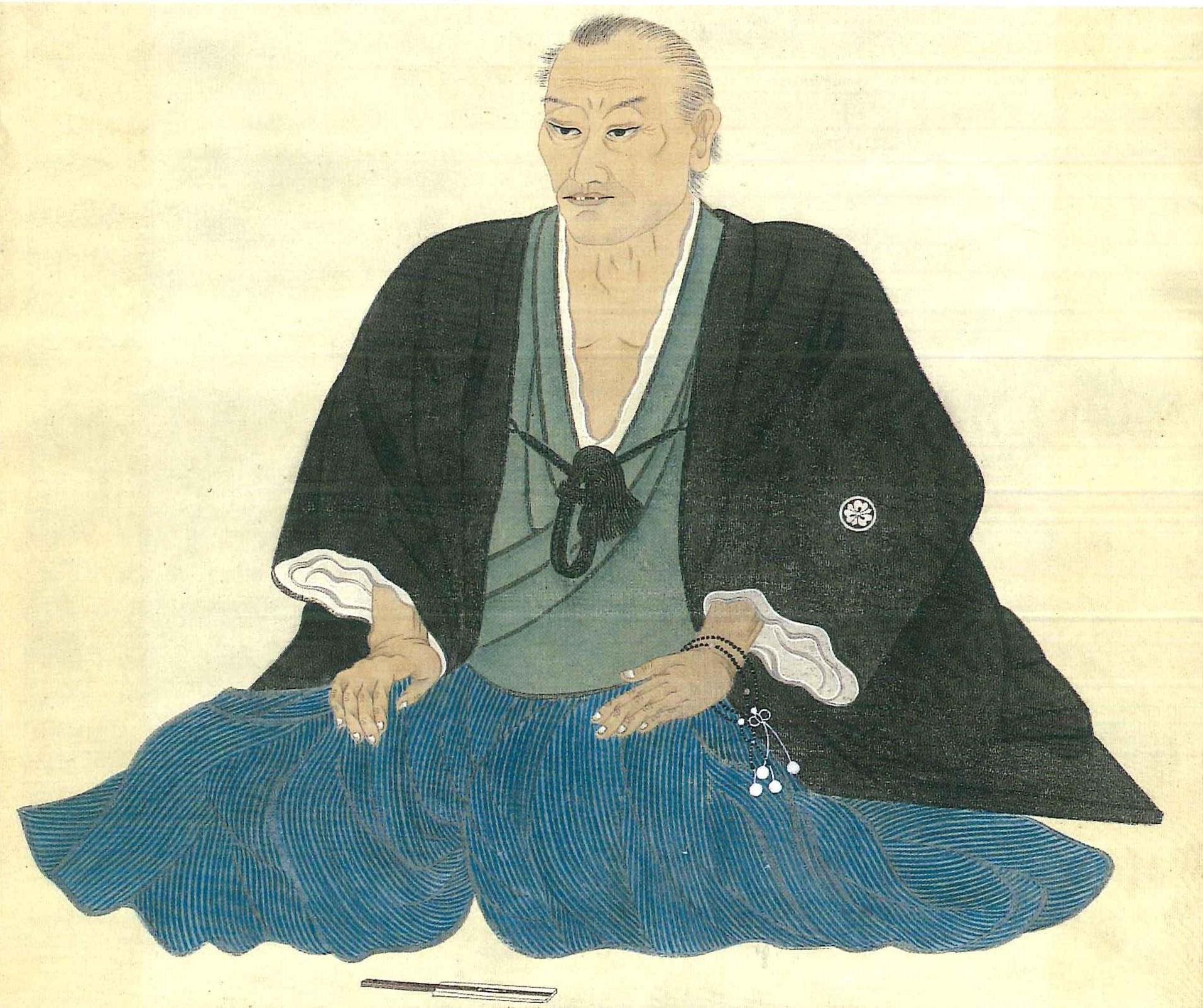 砺波庄太郎肖像画(『両堂再建の妙好人 砺波庄太郎』)