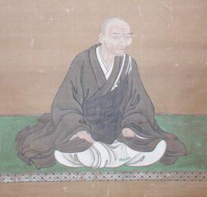 粟津義圭師肖像画(響忍寺所蔵)