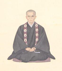 住田智見肖像画(祐誓寺所蔵)