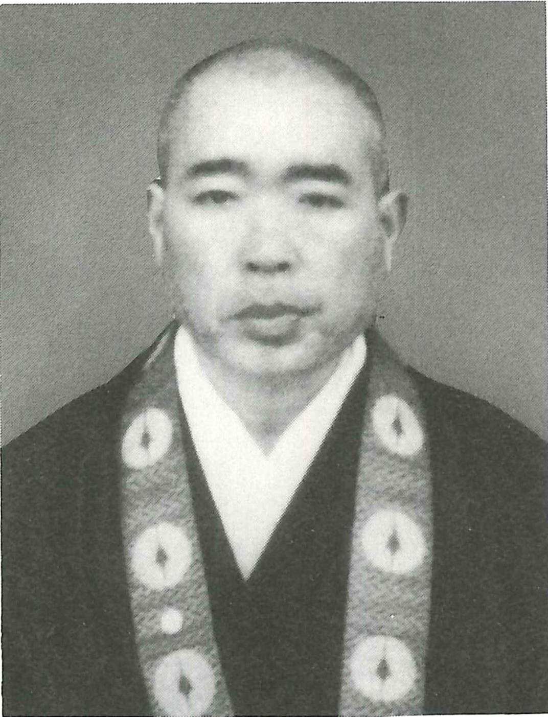 松金憲雄写真(安專寺所蔵)