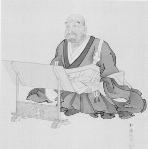 26円乗院宣明師肖像画(大谷大学博物館所蔵)